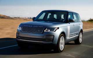 Обзор Range Rover PHEV 2018 (гибрид)