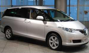 Тест-драйв Toyota Estima Hybrid
