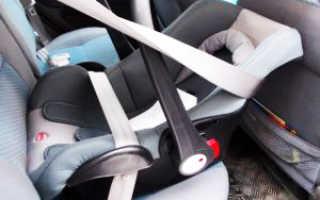 Установка автокресла в машину