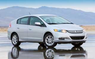 Honda Insight Hybrid: обзор, преимущества и недостатки