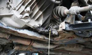 Замена масла в механической коробке передач