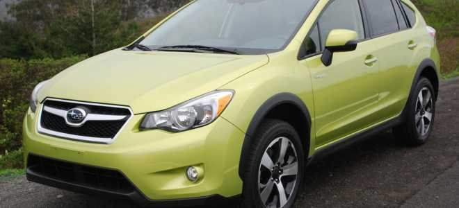Subaru XV Crosstrek Hybrid — компактный кроссовер