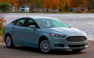 Полный обзор автомобиля Ford Fusion Hybrid