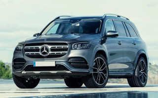 Новый Mercedes GLS 2020 модельного года