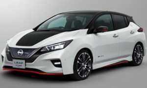 Обзор нового электромобиля Nissan Leaf 2019 — 2020