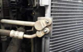 Чистка радиатора кондиционера автомобиля