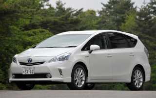 Toyota Prius Alpha — обзор, тест-драйв