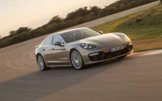 Технические характеристики и дизайн гибрида Porsche Panamera, потребление топлива