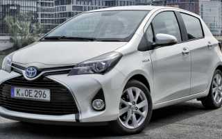 Обзор Toyota Yaris Hybrid