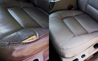 Ремонт обивки сидений автомобиля