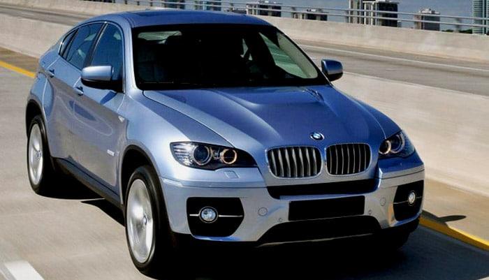 фотография гибридного автомобиля для обзора BMW Active Hуbrid X6