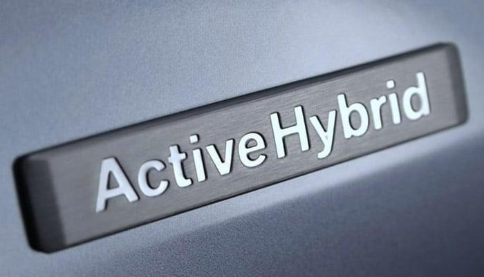 логотип activehybrid на BMW