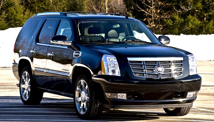 фотография гибридного автомобиля для обзора Cadillac Escalade Hуbrid