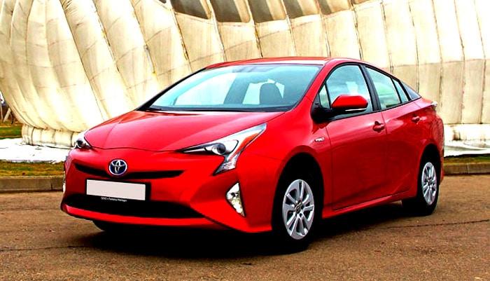 фотография гибридного автомобиля тойота приус гибрид Toyota Prius Hybrid