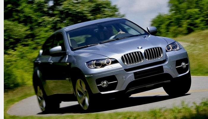 фото в пути автомобиль BMW X6