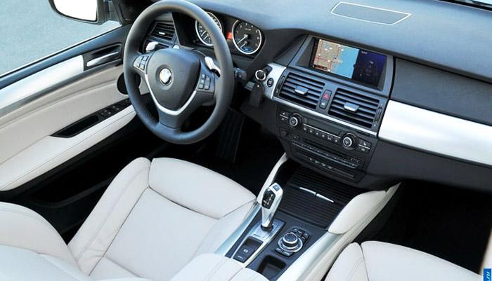 фото салона гибридного BMW X6