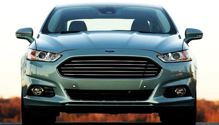вид спереди ford fusion