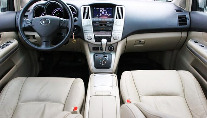 фото салона Lexus-RX-400h