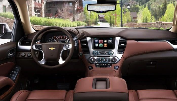 фото салона Chevrolet tahoe hybrid
