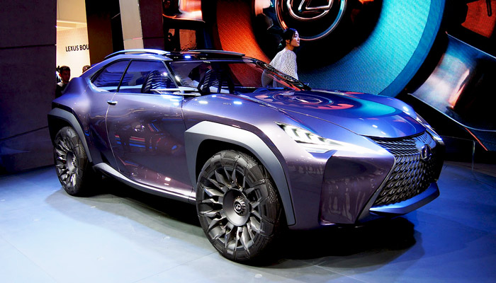 фото машины Lexus UX