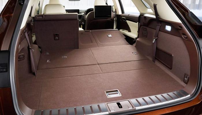 багажник гибридного Lexus RX 450