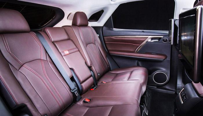интерьер авто Lexus RX 450