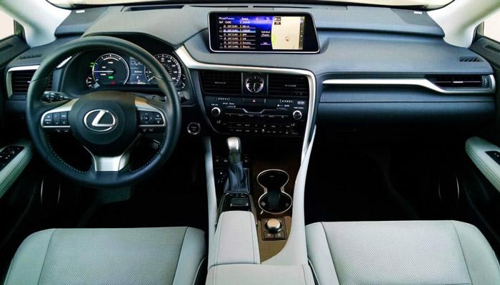 фото салона Lexus-RX-450