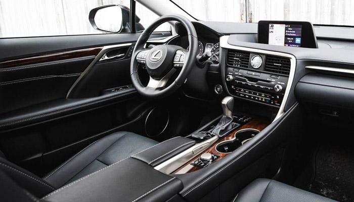 фото интерьера Lexus RX 450h