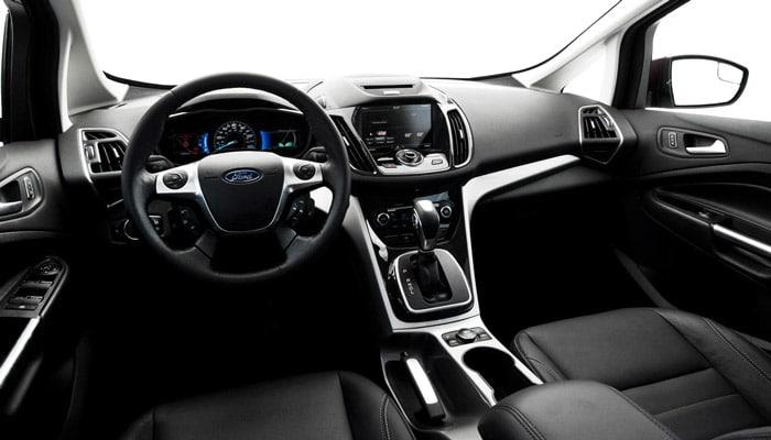 интерьер ford c max hybrid