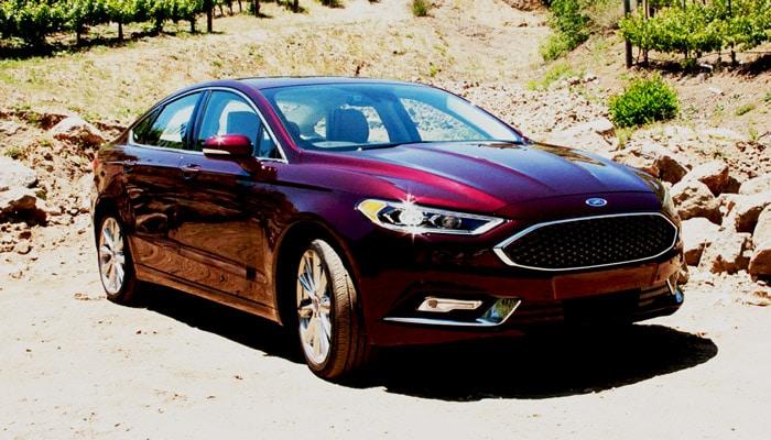 дизайн гибридного Ford Fusion