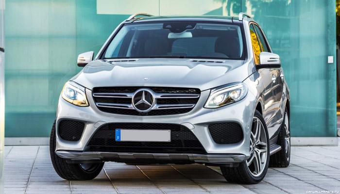 фото спереди Mercedes-Benz GLE 500 e 4MATIC