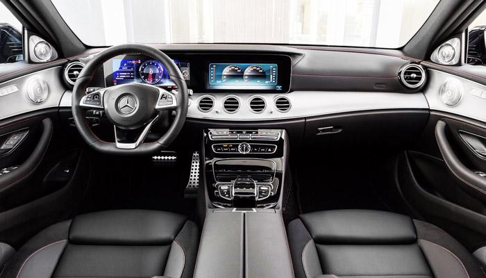 дизайн салона Mercedes-Benz-E 350-e