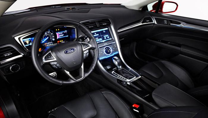 интерьер Ford fusion hybrid