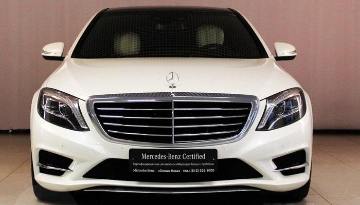 фото спереди Mercedes-Benz S 500