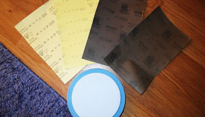 наждачная бумага для полировки фар