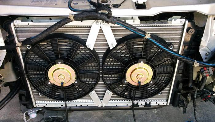 загрязнение радиатора
