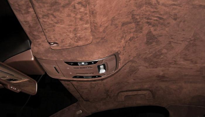 фото оббивки алькантара