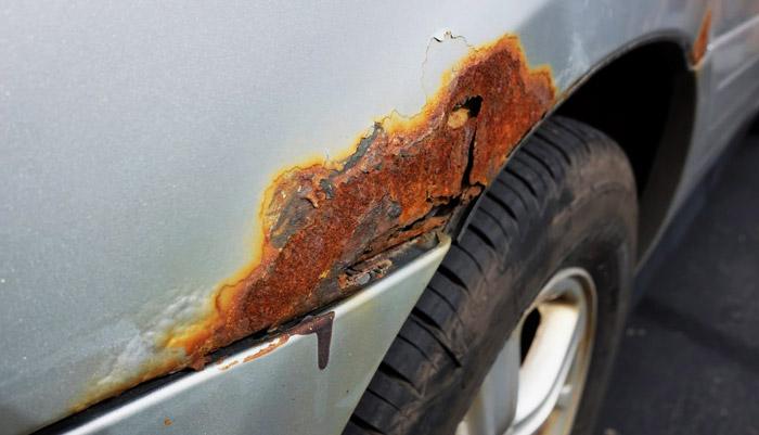 фото ржавчины на автомобиле