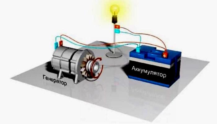 фото схемы лапочка аккумулятора