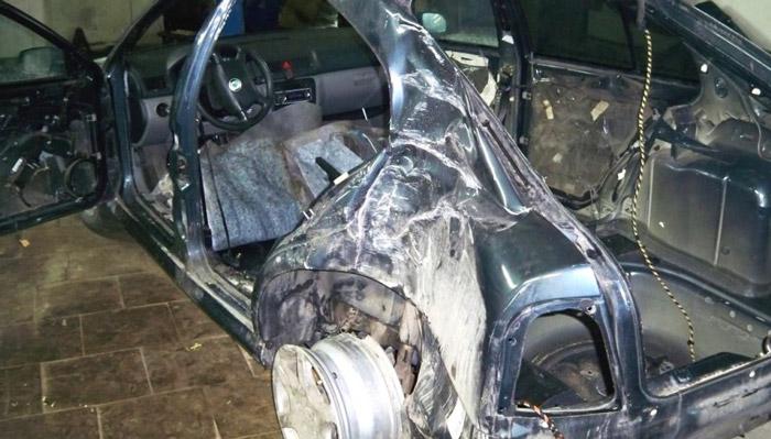 фото сложного ремонта кузова