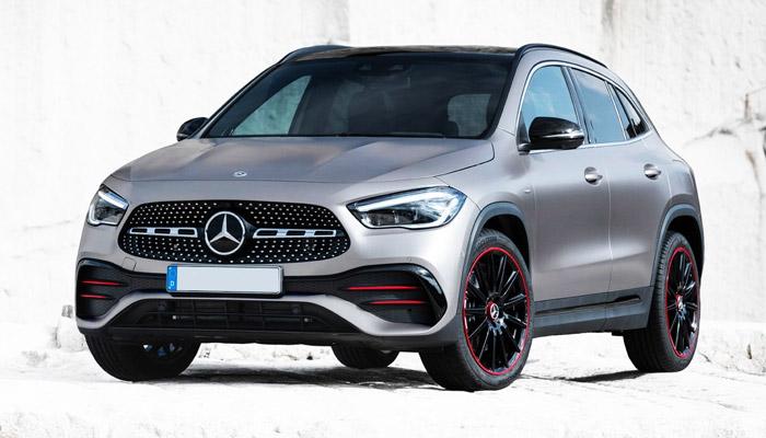 внешний вид Mercedes Benz GLA 2020