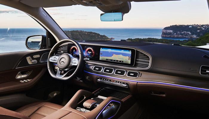 салон автомобиля Mercedes GLS 2020