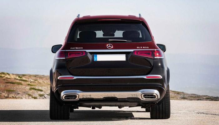 вид сзади Mercedes Maubach GLS
