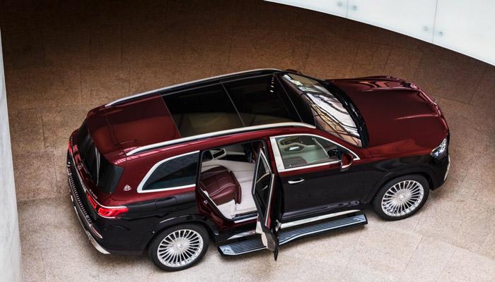 вид сверху Mercedes Maybach GLS