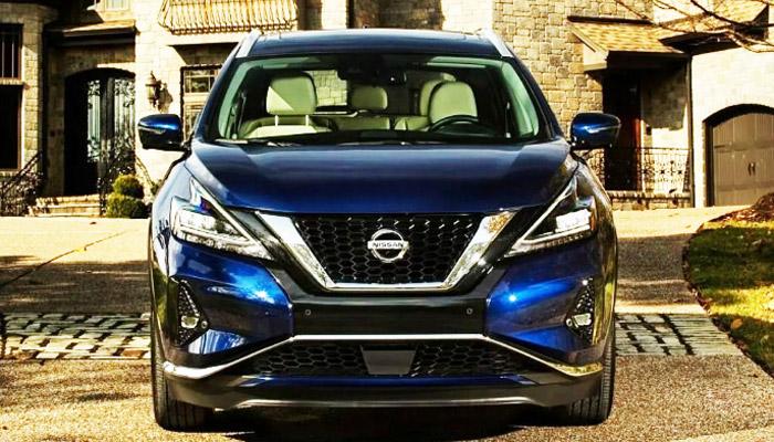 фото спереди Nissan Murano