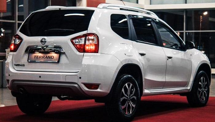 фотография автомобиля Nissan Terrano