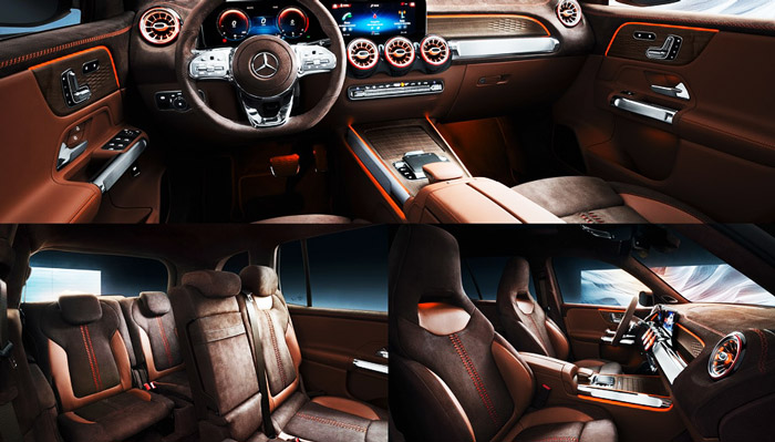 фото салона Mercedes Benz GLA