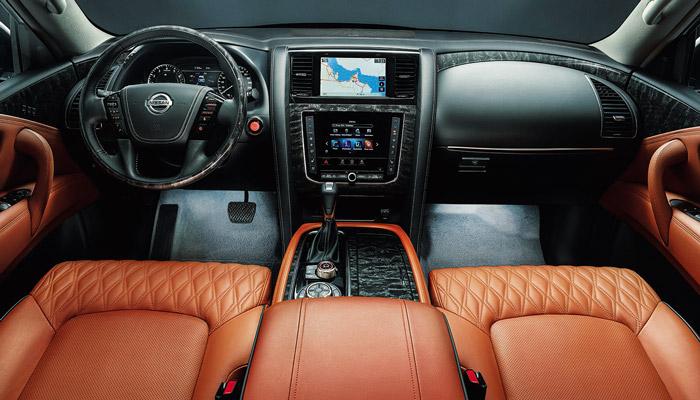 салон авто Nissan Patrol