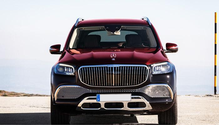фото спереди Mercedes-Maubach-GLS