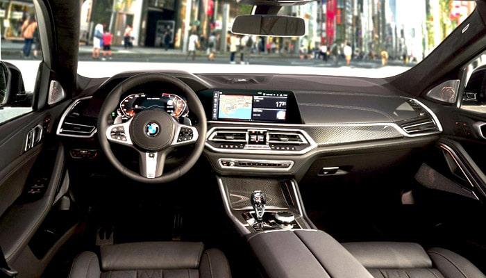 фотография внутри BMW X6 salon